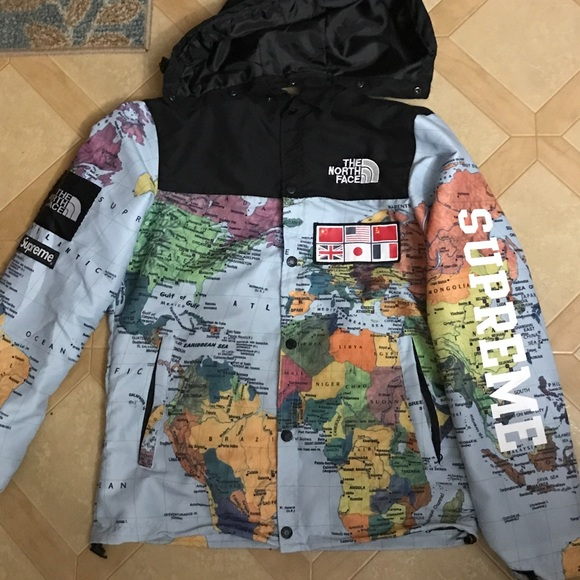a3b03b15 ... low cost supreme x north face map jacket 0ff9c 6920d
